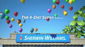 Sherwin-Williams 4-Day Super SaleTV Spot, 'July 2013'