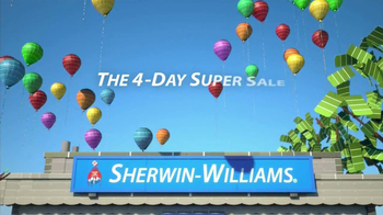 Sherwin-Williams 4-Day Super SaleTV Spot, 'July 2013'