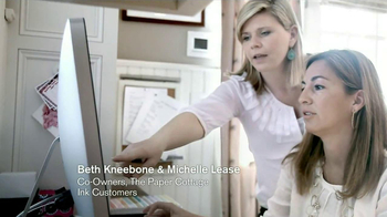 Chase Ink TV Spot, 'The Paper Cottage: Beth and Michelle' - Thumbnail 3