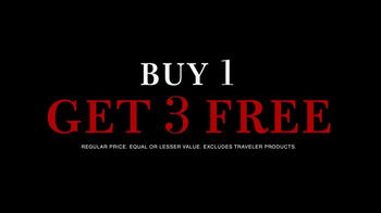 JoS. A. Bank TV Spot, 'Buy 1 Get 3 Free'