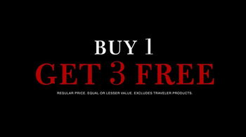 JoS. A. Bank TV Spot, 'Buy 1 Get 3 Free' - Thumbnail 3