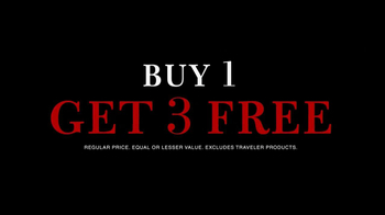 JoS. A. Bank TV Spot, 'Buy 1 Get 3 Free' - Thumbnail 9