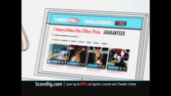 ScoreBig.com TV Spot, 'Discount Tickets' - Thumbnail 5