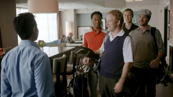 Hampton Inn & Suites TV Spot 'Golf Suit'