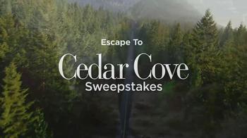 Hallmark Channel TV Spot Cedar Cover Sweepstakes - Thumbnail 2