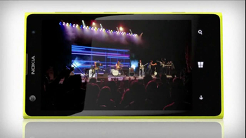 AT&T Nokia Lumina 1020 TV Spot, 'Concert' Song by The Colourist - Thumbnail 10