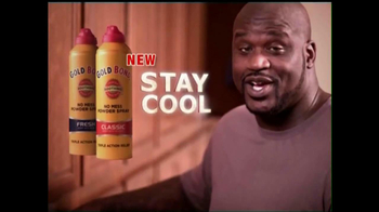 Gold Bond Powder Spray TV Spot Ft Shaquille O'neal - Thumbnail 6