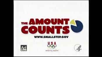 Ad Council TV Spot 'The Amount Counts' - Thumbnail 9