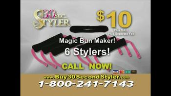 30 Second Curler TV Spot '30 Second Styler Kit' - Thumbnail 9