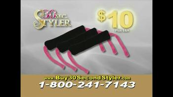 30 Second Curler TV Spot '30 Second Styler Kit' - Thumbnail 7