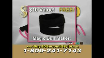 30 Second Curler TV Spot '30 Second Styler Kit' - Thumbnail 8