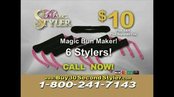 30 Second Curler TV Spot '30 Second Styler Kit'