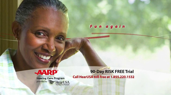 AARP Hearing Care Program TV Spot - Thumbnail 3