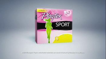 Playtex Sport TV Spot, 'Swimming' - Thumbnail 10