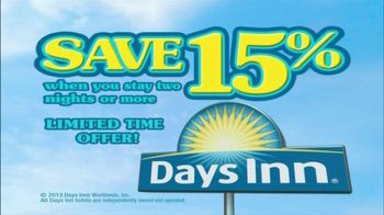 Days Inn TV Spot, 'Save 15%' Song by Jess Penner - Thumbnail 8