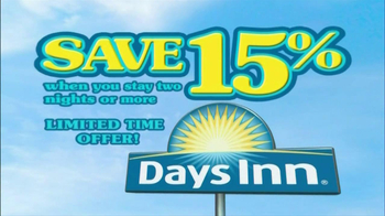 Days Inn TV Spot, 'Save 15%' Song by Jess Penner - Thumbnail 2