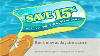 Days Inn TV Spot, 'Save 15%' Song by Jess Penner - Thumbnail 3