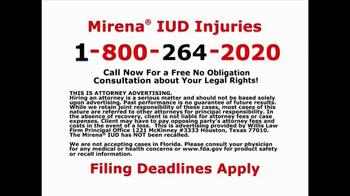 Willis Law Firm TV Spot, 'IUD Injuries' - Thumbnail 10