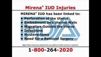 Willis Law Firm TV Spot, 'IUD Injuries' - Thumbnail 2