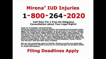 Willis Law Firm TV Spot, 'IUD Injuries' - Thumbnail 8