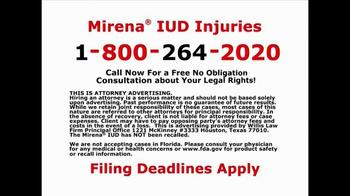 Willis Law Firm TV Spot, 'IUD Injuries' - Thumbnail 9