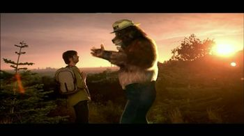 Smokey Bear Campaign TV Spot, 'Post Camping Fire' - Thumbnail 6