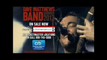 Dave Matthews Band Summer Tour 2013 TV Spot - Thumbnail 9
