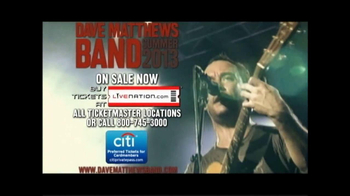 Dave Matthews Band Summer Tour 2013 TV Spot - Thumbnail 8