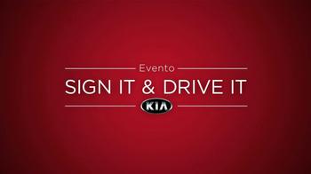 Kia Sign It Drive It TV Spot [Spanish] - Thumbnail 8