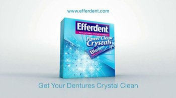 Efferdent Power Clean Crystals TV Spot '99.9% Odors' - Thumbnail 10