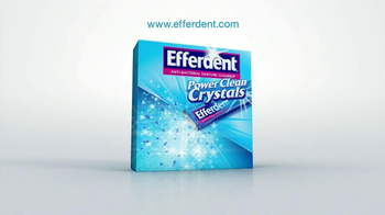 Efferdent Power Clean Crystals TV Spot '99.9% Odors' - Thumbnail 9