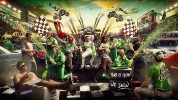 Diet Mountain Dew TV Spot, 'Living Portrait' Featuring Dale Earnhardt, Jr.