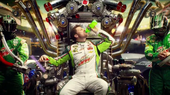 Diet Mountain Dew TV Spot, 'Living Portrait' Featuring Dale Earnhardt, Jr. - Thumbnail 3