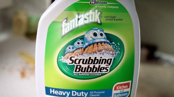 Scrubbing Bubbles Heavy Duty with Fantastik TV Spot - Thumbnail 5