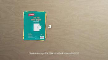 Staples 1 Cent Filler Paper TV Spot - Thumbnail 10