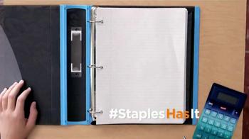 Staples 1 Cent Filler Paper TV Spot - Thumbnail 7