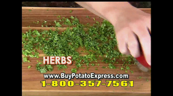 Potato Express With Recipe Guide & Super Slicer TV Spot - Thumbnail 9