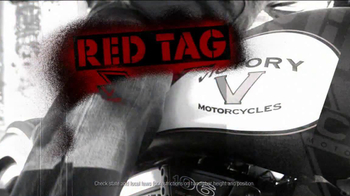 Victory Motorcycles Red Tag Event TV Spot - Thumbnail 2