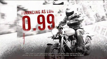 Victory Motorcycles Red Tag Event TV Spot - Thumbnail 8