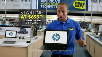 Best Buy Blue Shirt Beta Test TV Spots TV Spot, 'HP Split x2'