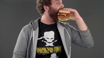 Carl's Jr. Super Bacon Cheeseburger TV Spot - Thumbnail 7