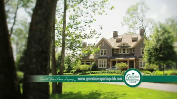 The Greenbrier Sporting Club TV Spot, 'Home'