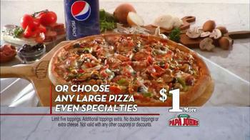 Papa John's Sausage Sensation Pizza TV Spot - Thumbnail 7