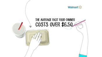 Walmart TV Spot, 'Fast Food Savings' - Thumbnail 3