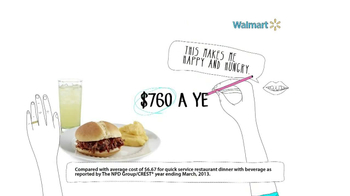 Walmart TV Spot, 'Fast Food Savings' - Thumbnail 8