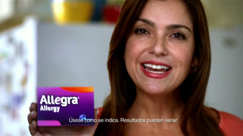 Allegra Allergy TV Spot, 'Esposo' [Spanish] - Thumbnail 3