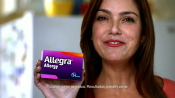Allegra Allergy TV Spot, 'Esposo' [Spanish] - Thumbnail 4