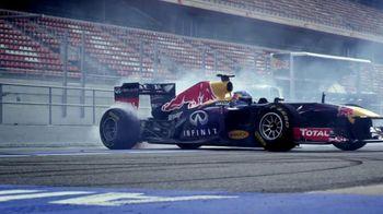 Infiniti Q50s TV Spot Featuring Sebastian Vettel