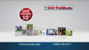 1-800-PetMeds TV Spot, '10% off of Everything'