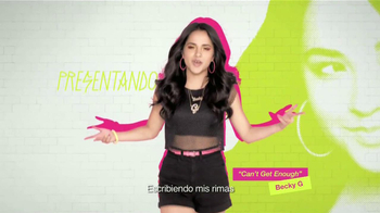 CoverGirl TV Spot, 'Can't Get Enough' Con Becky G [Spanish]
